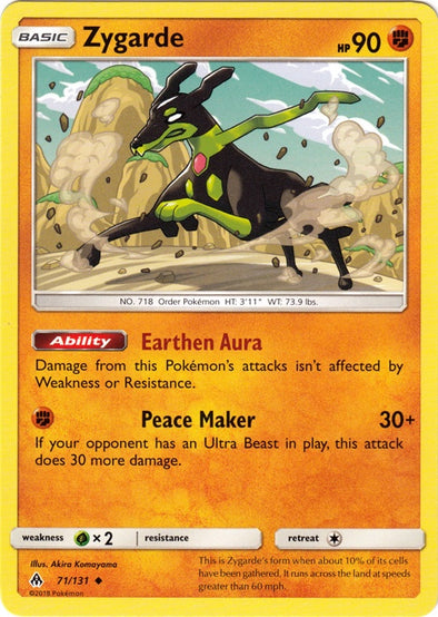 Buy Zygarde - 71/131 and more Great Pokemon Products at 401 Games