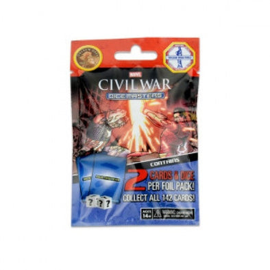 Buy Dice Masters - Marvel Civil War - Gravity Feed Booster Pack and more Great Dice Masters Products at 401 Games