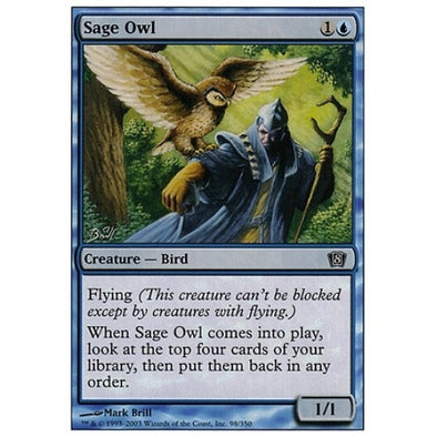 Sage Owl available at 401 Games Canada