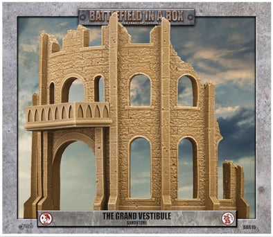 Battlefield in a Box - Sandstone - The Grand Vestibule available at 401 Games Canada