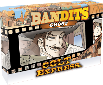 Buy Colt Express - Bandit Pack - Ghost Expansion and more Great Board Games Products at 401 Games