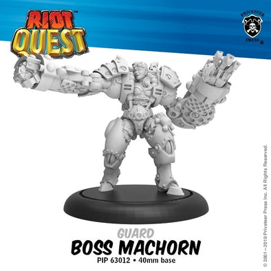 Riot Quest - Hero - Boss MacHorn - 401 Games