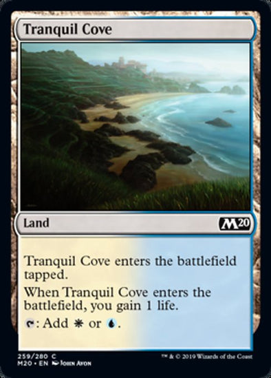 Tranquil Cove (M20) - 401 Games