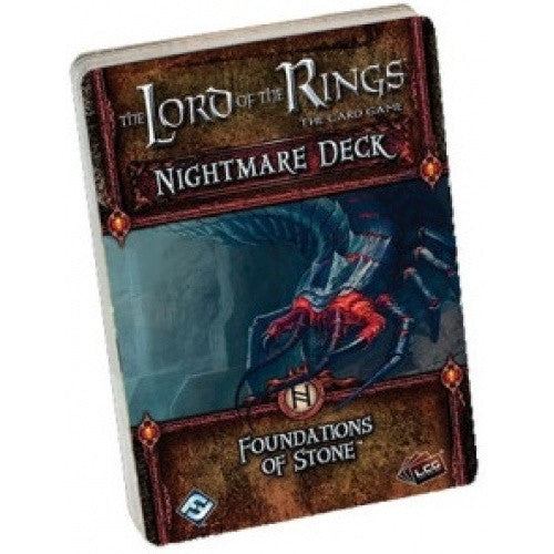 Lord of the Rings Living Card Game - Foundations of Stone Nightmare Deck - 401 Games