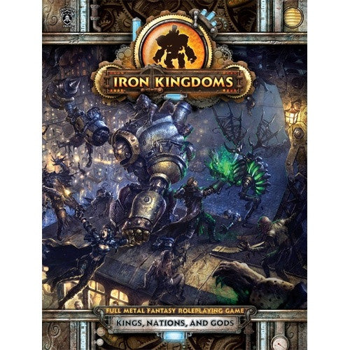 Iron Kingdoms - Kings, Nation, And Gods - 401 Games