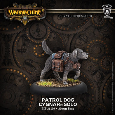 Buy Warmachine - Cygnar - Patrol Dog and more Great Tabletop Wargames Products at 401 Games