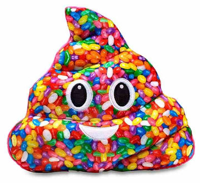 Emoji Pillow - Regular - Jellybean Poo - 401 Games