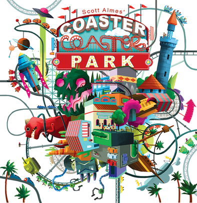 Buy Coaster Park and more Great Board Games Products at 401 Games