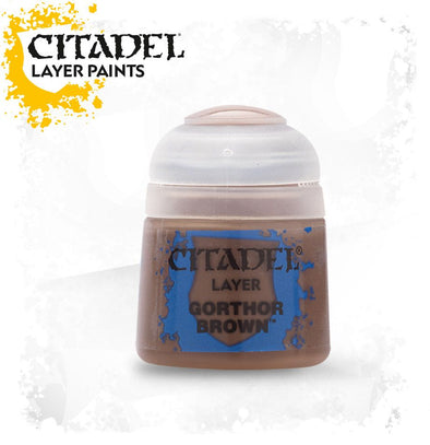 Buy Citadel Layer - Gorthor Brown and more Great Games Workshop Products at 401 Games