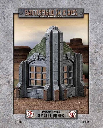 Battlefield in a Box - Gothic Industrial - Small Corner available at 401 Games Canada