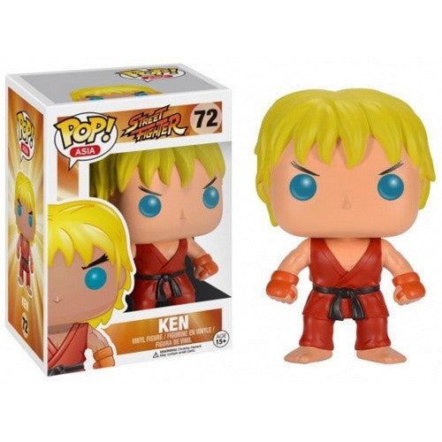 Buy Pop! Street Fighter - Ken and more Great Funko & POP! Products at 401 Games