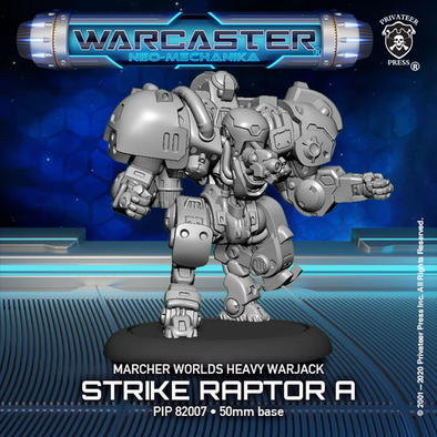 Warcaster - Neo-Mechanika - Marcher Worlds - Strike Raptor (Variant A) - 401 Games