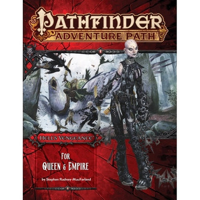 Pathfinder - Adventure Path - #106: For Queen & Empire (Hell's Vengeance 4 of 6) available at 401 Games Canada