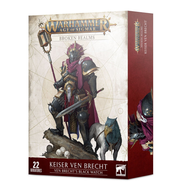 Warhammer - Age of Sigmar - Broken Realms - Ven Brecht's Black Watch ** available at 401 Games Canada