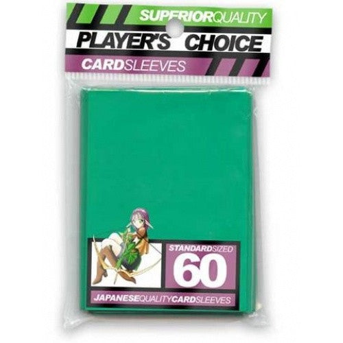 Buy Players Choice - Small / Yu Gi Oh - Green and more Great Sleeves & Supplies Products at 401 Games