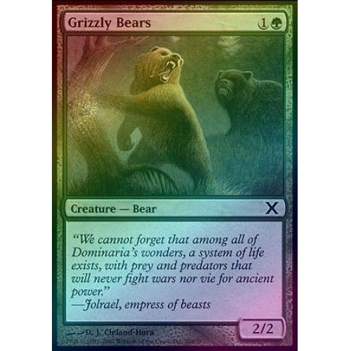 Grizzly Bears (Foil) available at 401 Games Canada