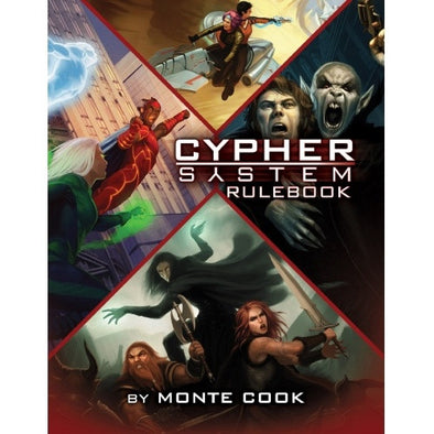Buy Cypher System - Core Rulebook and more Great RPG Products at 401 Games