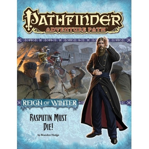 Buy Pathfinder - Adventure Path - #71: Rasputin Must Die! (Reign of Winter 5 of 6) and more Great RPG Products at 401 Games