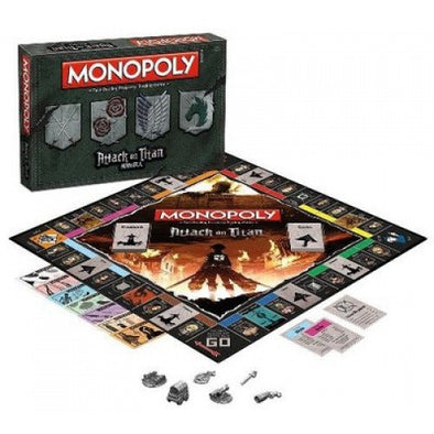 Monopoly - Attack on Titan - 401 Games