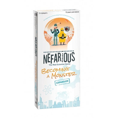Nefarious - Becoming a Monster Expansion available at 401 Games Canada