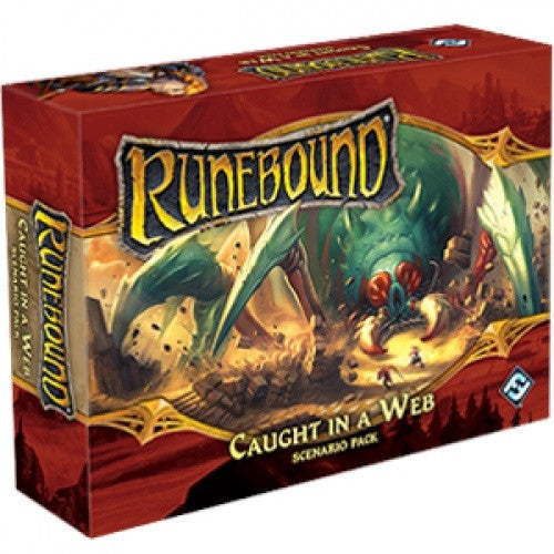 Runebound - 3rd Edition - Caught in a Web Scenario Pack - 401 Games