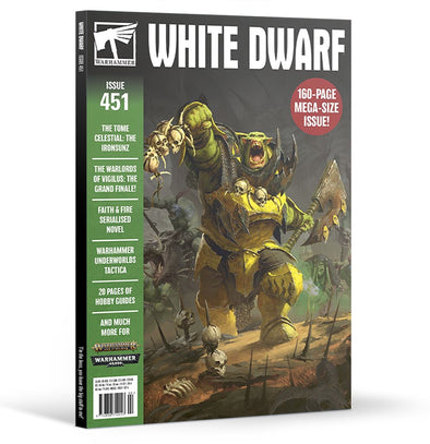 White Dwarf - Issue 451 - February 2020 available at 401 Games Canada