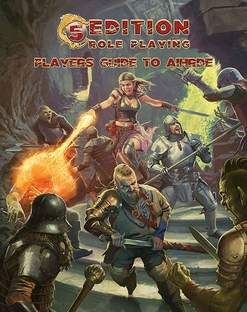 Dungeons and Dragons - 5th Edition - 5th Edition Adventures: Player's Guide to Aihrde (Hardcover) - 401 Games
