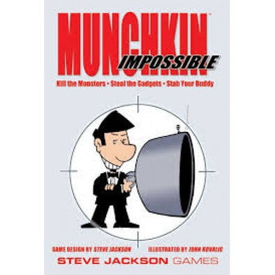Munchkin Impossible available at 401 Games Canada