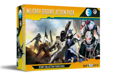 Infinity - PanOceania - Military Orders Action Pack (Pre-Order)
