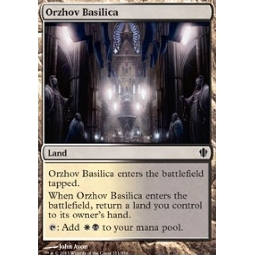 Orzhov Basilica (C13) available at 401 Games Canada