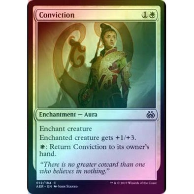 Conviction (Foil) (AER) available at 401 Games Canada