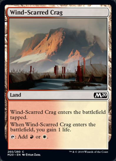 Wind-Scarred Crag (M20) - 401 Games