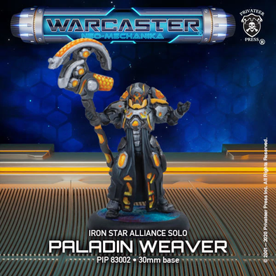 Warcaster - Neo-Mechanika - Iron Star Alliance - Paladin Weaver - 401 Games