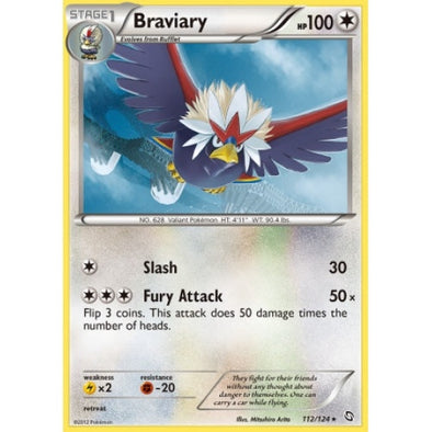 Braviary - 112/124 (DGX112) available at 401 Games Canada