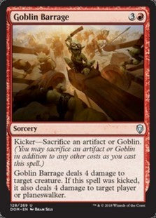 Goblin Barrage (DOM) available at 401 Games Canada