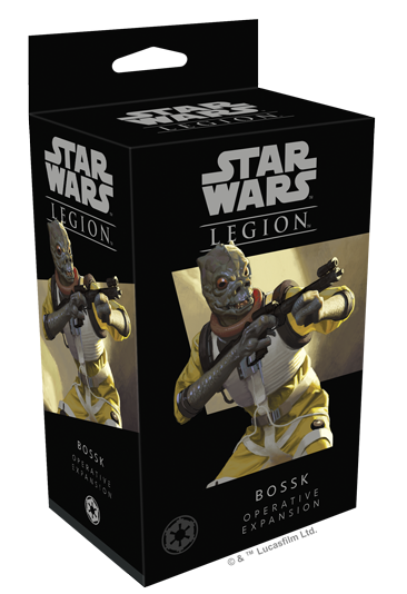Star Wars - Legion - Imperial - Bossk Operative Expansion - 401 Games
