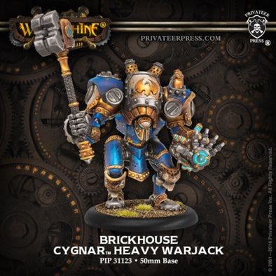 Buy Warmachine - Cygnar - Brickhouse and more Great Tabletop Wargames Products at 401 Games