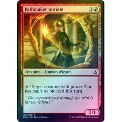 Pathmaker Initiate (Foil) (AKH) available at 401 Games Canada