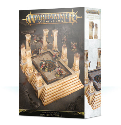 Buy Warhammer - Age of Sigmar - Realm of Sigmar - Shattered Temple and more Great Games Workshop Products at 401 Games