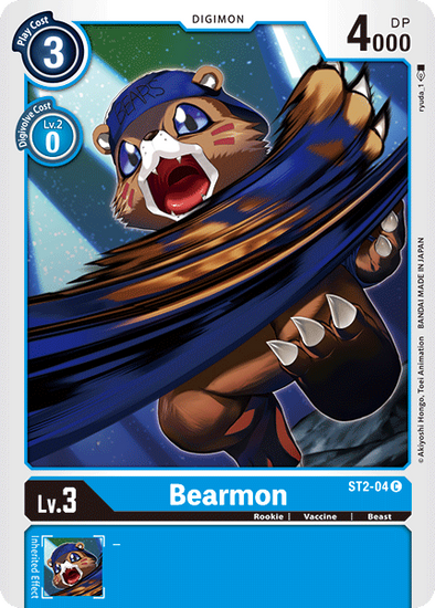 Bearmon (ST2-04) available at 401 Games Canada