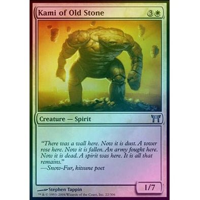 Kami of Old Stone (Foil) (CHK) - 401 Games