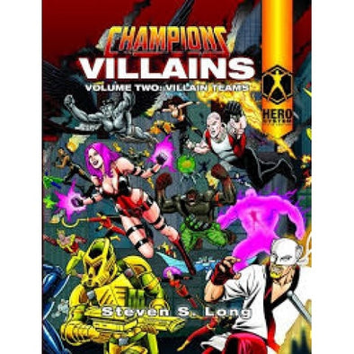 Buy Champions Complete - Villains Volume 2: Villain Teams and more Great RPG Products at 401 Games