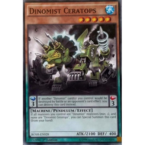 Dinomist Ceratops (BOSH) available at 401 Games Canada