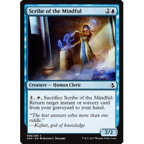 Scribe of the Mindful (AKH) available at 401 Games Canada