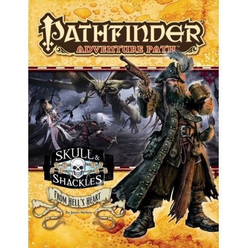 Pathfinder - Adventure Path - #60: From Hell's Heart (Skull and Shackles 6 of 6) - 401 Games