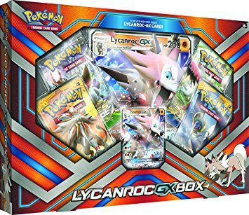 Buy Pokemon - Lycanroc-GX Collection Box and more Great Pokemon Products at 401 Games