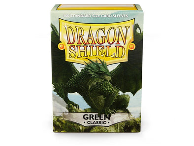Buy Dragon Shield - 100ct Standard Size - Green and more Great Sleeves & Supplies Products at 401 Games