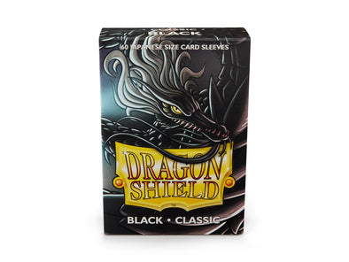 Buy Dragon Shield - 60ct Japanese Size - Black and more Great Sleeves & Supplies Products at 401 Games