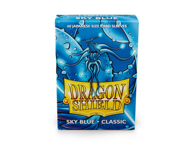 Dragon Shield - 60ct Japanese Size - Sky Blue