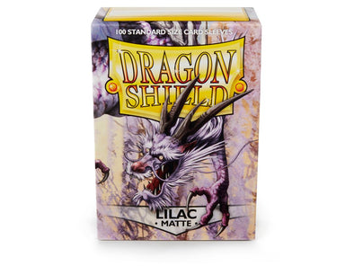 Buy Dragon Shield - 100ct Standard Size - Lilac Matte and more Great Sleeves & Supplies Products at 401 Games